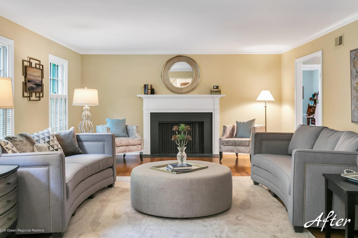Occupied Home Design And Staging Services Restyled To Sell